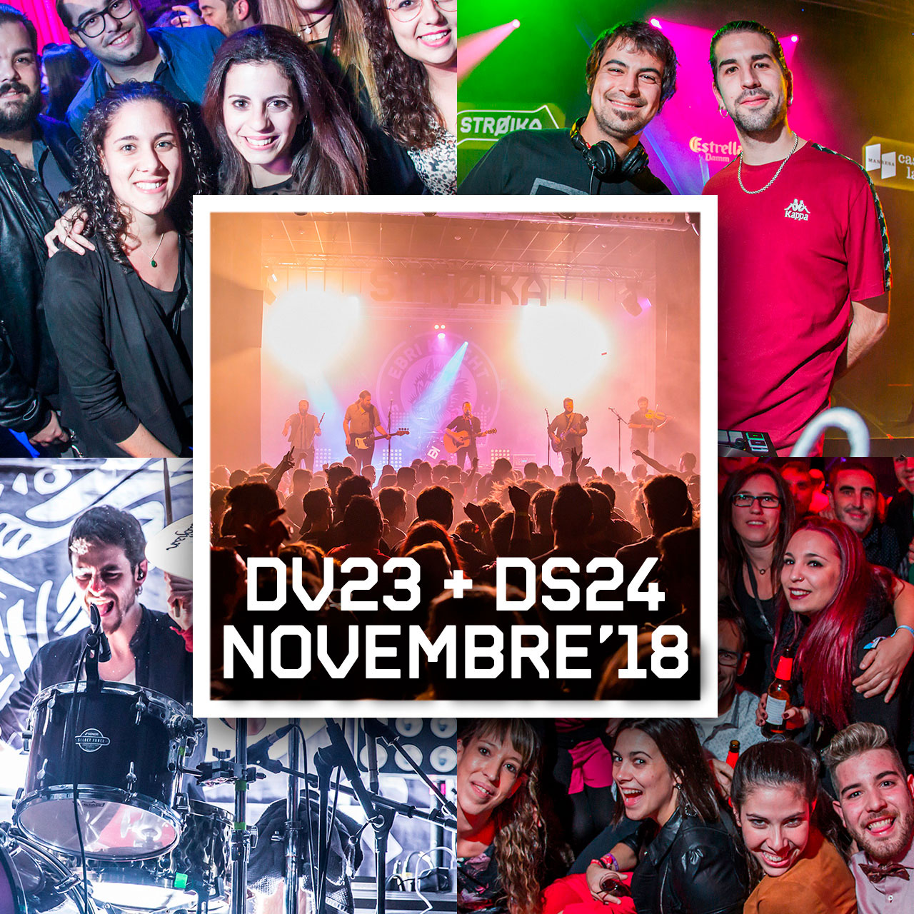 DV23 +DS24 NOV'18 // EBRI KNIGHT +PRESIDENT XAI +STROIKA SESSIONS